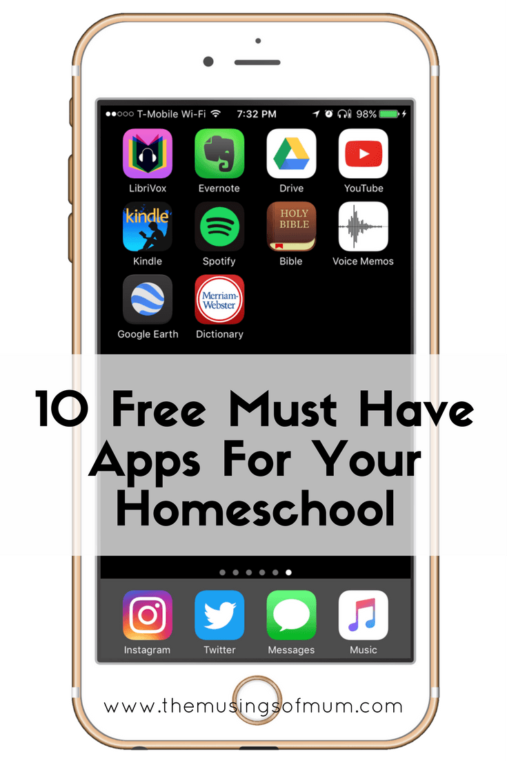 10 Free Must Have Apps For Your Homeschool