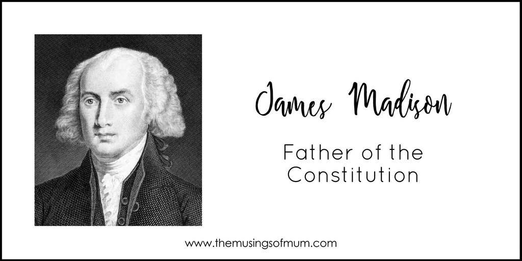 james madison jr the father of the constitution James madison (1751-1836) was a founding father of the united states and the fourth american president, serving in office from 1809 to 1817 an advocate for a strong federal government, the.