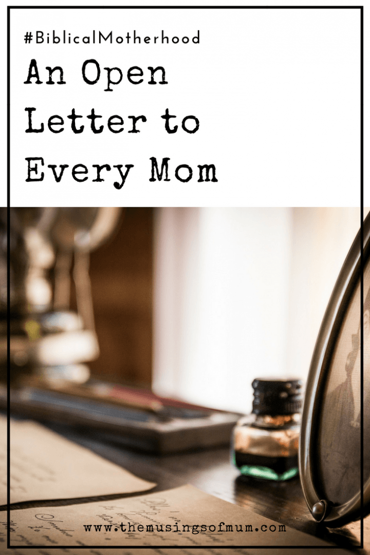 An Open Letter to Every Mom - I didn't know that sometimes you were stressed out. I didn't know that there were days you worried about the bills.