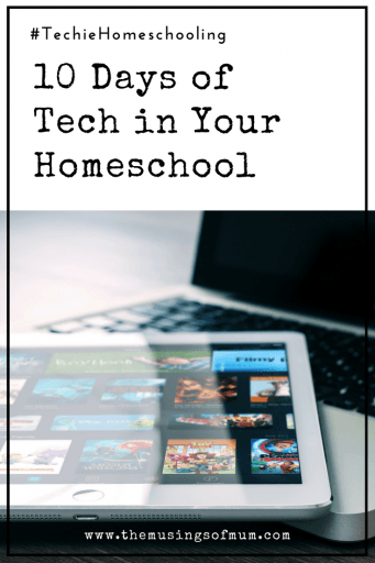 10 Days of Tech in Your Homeschool - How do you incorporate tech in your homeschool? While it hasn't replaced all 'traditional' tools and books in our home, technology and broadened our learning opportunities, and allowed us to see things we would have never had the opportunity to in person.