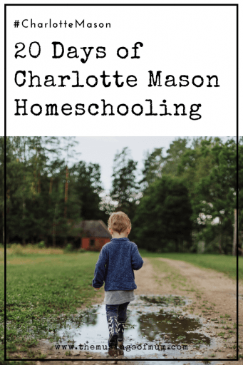 20 Days of Charlotte Mason Homeschooling - Join us as we explore the Charlotte Mason philosophy, and we look at how her influence is lived out in homeschools everywhere.