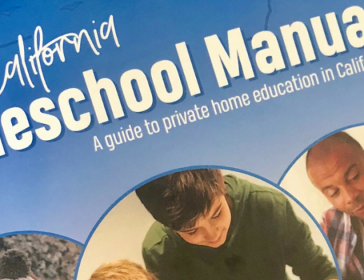 The California Homeschool Manual Review