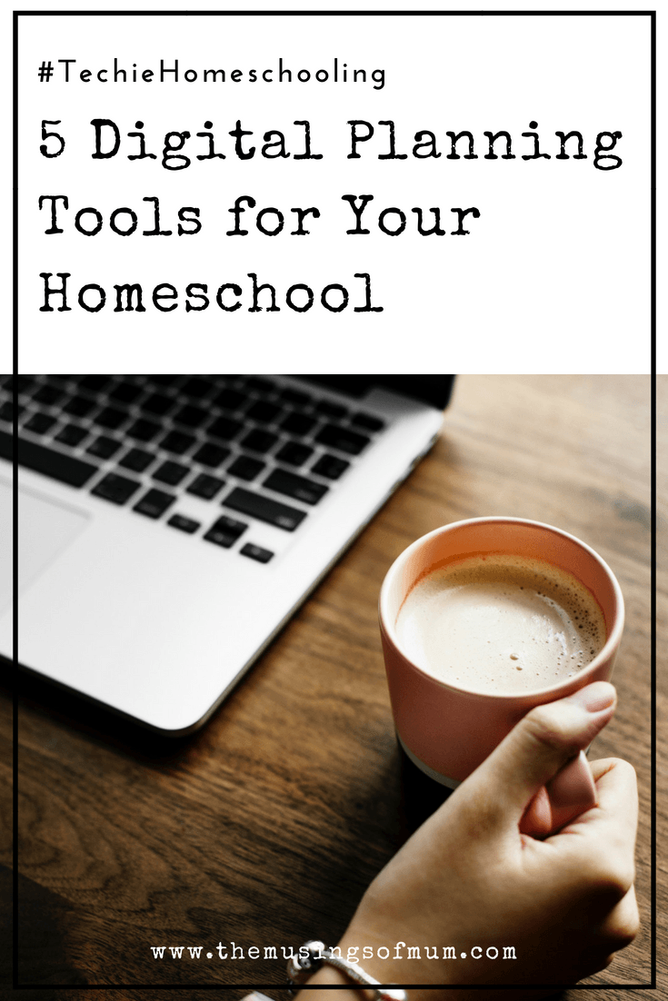 5 Digital Planning Tools for Your Homeschool - There are lots of great digital planning an organizational tools out there. Just like homeschooling, the digital tools you choose, should fit you, your planning style, and your family. They will only be useful if they help you save time, if you use them.